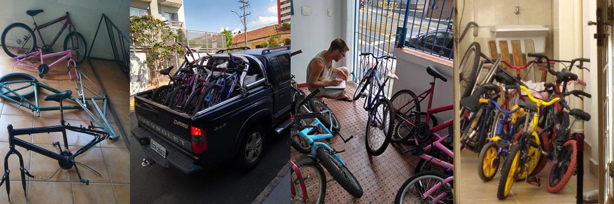 Conserto bicicletas